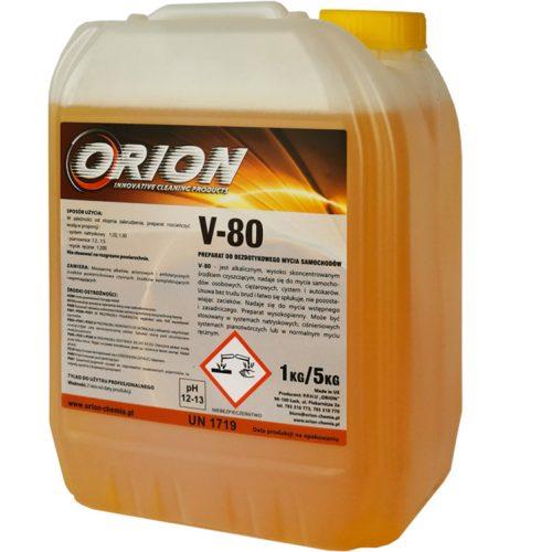 V-80 (5 Kg) Kemény, illatos hab az érintés nélküli autómosáshoz.