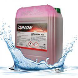 V-80 Foam Red ( 22 Kg)  Illatos, piros színű hab az érintés nélküli autómosáshoz. Ph 12-13,9