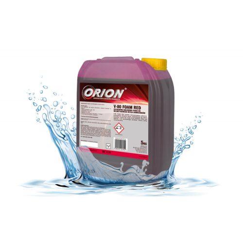 V-80 Foam Red ( 5 Kg) Piros színű, illatos hab az érintés nélküli autómosáshoz.