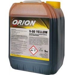 V-80 Foam Yellow ( 5 Kg) UV.sárga, illatos hab az érintés nélküli autómosáshoz.