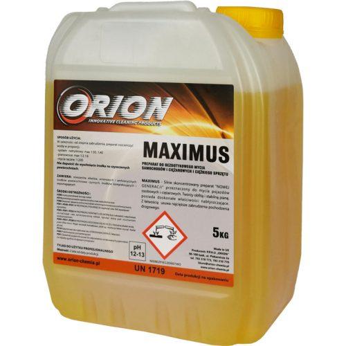 Maximus ( 5 Kg) Intenzív, illatos hab a járművek érintésesmentes tisztításához.
