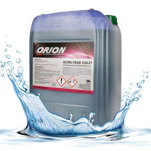 Ultra Foam Violet ( 20 L ) Illatos, Lila színű semleges aktív hab.