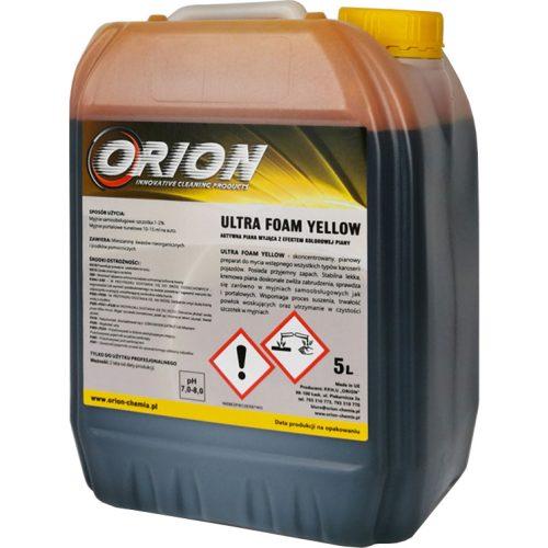 Ultra Foam Yellow ( 5 L ) UV sárga  semleges aktív hab.