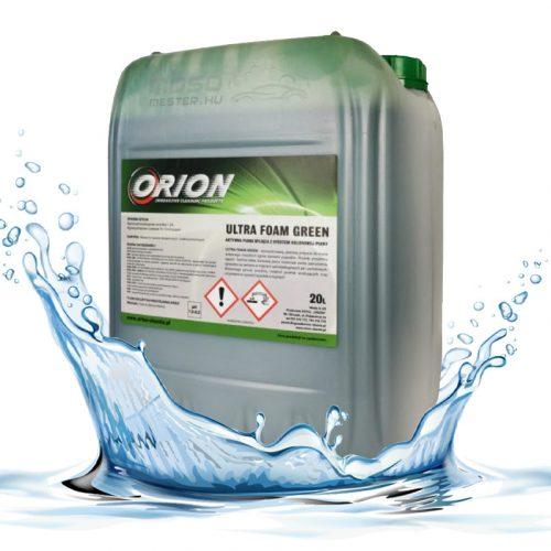 Ultra Foam Green ( 20 L ) Illatos,  zöld színű semleges aktív hab.