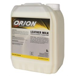Leather Milk  ( 5 L) A BŐR TISZTÍTÁSÁRA ÉS ÁPOLÁSÁRA.