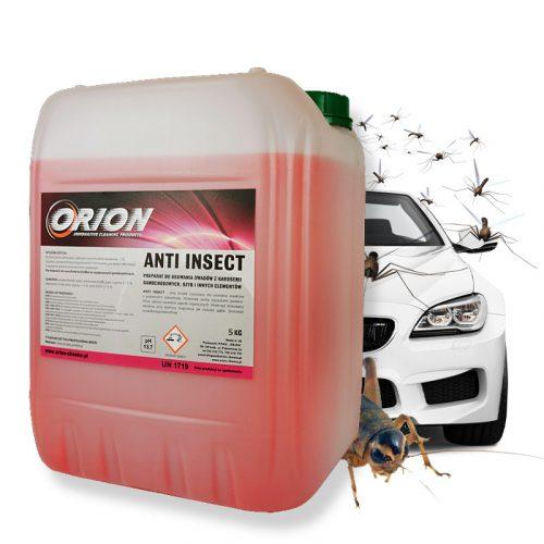 Anti Insect ( 5 Kg ) Bogarak a rovarok eltávolítására a járművek felületéről.