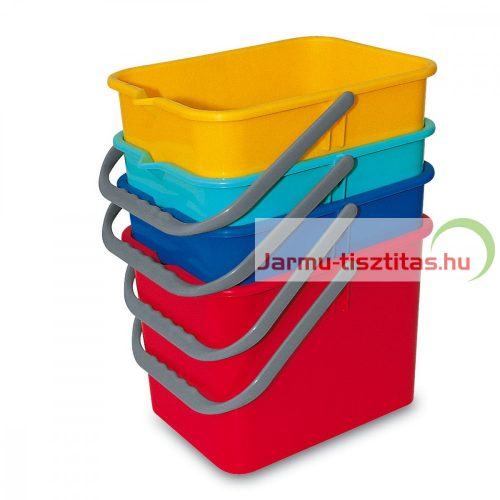 Vödör műanyag 9 l több színben